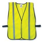 Ergodyne Glowear 8020HL High-Visibility Lime Universal Polyester Mesh High-Visibility Vest - 720476-20040