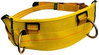 DBI-SALA Yellow Small Nylon Body Belt - Derrick Belt - 648250-16545