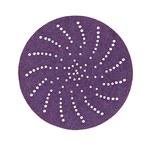 3M Cubitron II Hookit 737U Ceramic Purple Hook & Loop Disc - 80+ Grit - 3 in Diameter - 31361