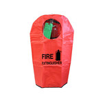 Chicago Protective Apparel Fire Extinguisher Cover - 9 in Width - 27 in Length - W05-9B