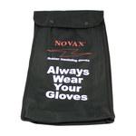 PIP Novax 148-21 Black Glove Bag - 15 in Length - 148-2142