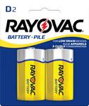 Rayovac Heavy Duty Standard Battery - Single Use Zinc Chloride D - 6D-2BF