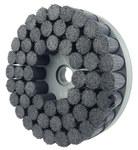 Weiler Ceramic Bristle Disc - Fine Grade - Arbor Attachment - 1 1/4 in Center Hole - 10 in Outside Diameter - 0.043 in Bristle Diameter - 86121