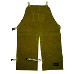 West Chester Ironcat 7011 Yellow Kevlar/Leather Welding - 2 Pockets - 24 in Width - 36 in Length - 662909-003867