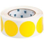 Brady 121033 Yellow Dot Vinyl Dot Marking Label - Outdoor - 2 in. Dia Width - B-7569