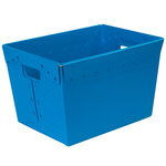 Blue Space Age Totes - 18 in x 13 in x 12 in - SHP-3073