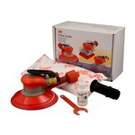 3M 20208 Self-Generated Vacuum Pneumatic Random Orbital Sander - 6 in DIA - 12,000 RPM -.28 hp