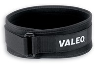 Valeo Black Large Nylon Webbing Back Support Belt - No Lumbar Pad - 4 in Width - 37 to 43 in Waist Sizes - 736097-44145