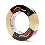 3M 203 Tan General Purpose Masking Tape - 24 mm (1 in) Width x 55 m Length - 58452