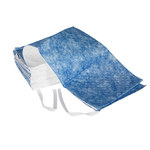 Brady Blue/White 25 gal Absorbent Sweep 107824 - 19 in Width - 100 ft Length - 662706-36113