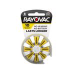 Rayovac Longest Lasting Hearing Aid Battery - Single Use 10 - L10ZA-8ZM