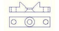 Loctite Micro Diaphragm Valve Mounting Bracket - IDH:1638885