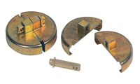 Justrite Master Lock 08509 Zinc Drum Plug Locking Device - 55 gal Plastic Drum Compatibility - 697841-13220