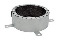 3M UPPD4 Metal Fire Barrier Pipe Device - 4 in Width - 051115-08381