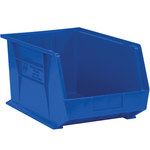 Blue Hang Bin Boxes - 5.375 in x 4.125 in x 3 in - SHP-2913