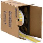 Brady Permasleeve DR-500-2-YL-2 Polyolefin Die-Cut Thermal Transfer Printer Sleeve - 12.7 in Width - 52841