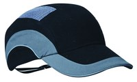 PIP Hardcap A1+ 282-ABR170 Blue High Density Polyethylene Cap Style Bump Cap - 2.75 in Brim - Buckle Adjustment - 038428-04970