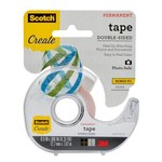 3M Scotch 002-CFT Clear Photo Tape - 1/2 in Width x 300 in Length - 59282