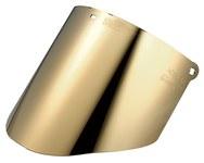 3M WCP96CG Dark Green Polycarbonate Face Shield Window - 14.5 in Width - 9 in Height - 078371-82604