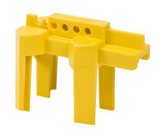 Brady Prinzing Yellow Polypropylene Ball Valve Lockout 45344 - 0.5 to 2.5 in Compatible Diameter - 754476-45344