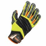 Ergodyne ProFlex Hybrid Lime Large Mechanic's Gloves - 924 LG