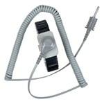 SCS Reusable Wrist Strap & Cord Set - 5 ft Length - Metal wrist strap - 2382