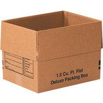 Shipping Supply Kraft Deluxe Packing Boxes - 16 in x 12 in x 12 in - SHP-2181