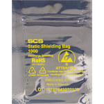 Transparent Reclosable Static Bag - 7 in x 10 in - 3.1 mil Thick - SHP-13318