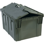 Grey Round Trip Totes - 26 in x 19 in x 15.625 in - SHP-3067
