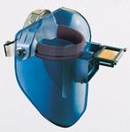 Fibre-Metal Tigerhood Classic Gray Thermoplastic Helmet Assembly - Bulk - 4 1/4 in Viewing Width - 2 in Viewing Height - FIBRE-METAL 5906GYBP