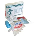 North Swift Body Fluid Cleanup Kit - Clear Polybag - 55-2001