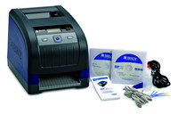 Brady BBP 33 Desktop Label Printer Barcode Capability Single Color - 3 in/sec - 300 dpi - BBP33-C