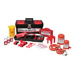 Brady Black on Red Lockout/Tagout Kit - 754476-03472