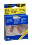 3M Safety Walk 7640NA Clear Anti-Slip Tub & Shower Tread - 1 in Width x 180 in Length - 59444