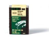 3M 909NA Sanding Sponge - 2 5/8 in Width x 3 3/4 in Length - 50037