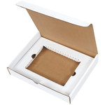 Oyster White DVD Literature Mailer Kit - 8.75 in x 11.125 in x 2 in - SHP-2826