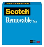 3M Scotch 811 Office Tape - 1/2 in Width x 1296 in Length - 19243