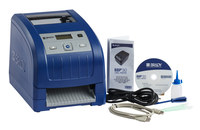 Brady BBP 30 Desktop Label Printer Barcode Capability Single Color - 4 in Max Label Width - 3 in/sec - 300 dpi - BBP30
