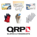 QRP PolyTuff 20G Large Reusable Cleanroom Gloves - ISO Class 5 Rating - 12 in Length - 8 mil Thick