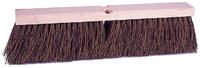 Weiler Vortec Pro 252 Deck Brush Head - Palmyra 4 in Bristle - 18 in Hardwood Block - 25241