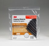 3M TB641 Black Grip Tape - 6 in Width x 7 in Length - 33 mil Thick - High Durability - 98224