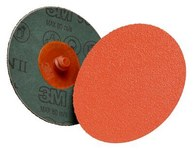 3M Cubitron II 987C Ceramic Quick Change Disc - Fibre Backing - 80+ Grit - 4 in Diameter - 87219