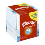 Kleenex Facial Tissue - 2 Ply - Box - 8.4 in Overall Length - 8.2 in Width - 21286