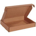 Shipping Supply Kraft Literature Mailers - 12 1/8 in x 9 1/4 in x 2 in - SHP-11699