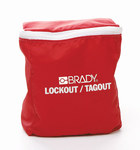 Brady Red Nylon Lockout/Tagout Kit - 754473-70850