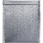 Shipping Supply Silver Cool Shield Bubble Mailers - 17 in x 15 in x 0 in - SHP-2286