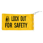 Brady Black on Yellow Canvas Lockout Bag 65780 - 754476-65780