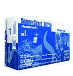 Sempermed Semperguard INIPFT Blue Large Powder Free Disposable Gloves - Industrial Grade - Rough Finish - INIPFT-104