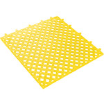 Shipping Supply Lok-Tyle Yellow Drainage Mat - 12 in Length - SHP-8757