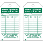 Brady 86557 Green on White Polyester General Inspection General Inspection Tag - 3 in Width - 5 3/4 in Height - B-851